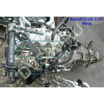 RENAULT TRAFIC 2.1 D;Двигатель J8S 5 758 -