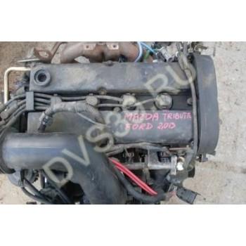 Двигатель mazda tribute 2.0 b ford mondeo 2.0 zetec