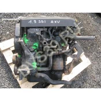 VW LUPO SEAT AROSA Двигатель 1.7 SDI AKU
