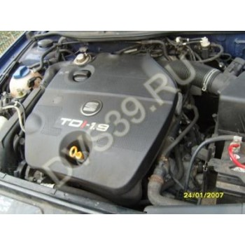 seat leon toledo 99-04 Двигатель 1,9TDI ASV 110KM