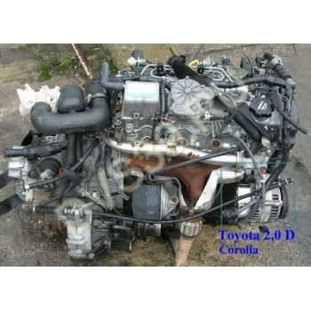 TOYOTA COROLLA 2.0 D ; Двигатель -C