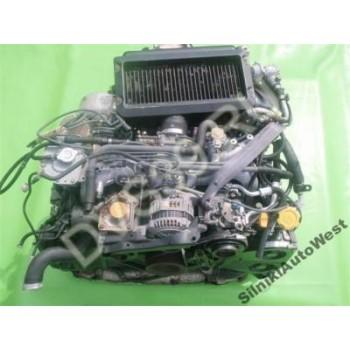 SUBARU IMPREZA LEGACY Двигатель 2.0 TWIN TURBO E