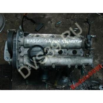 SKODA FABIA 1.4 16V Двигатель
