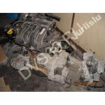 CLIO II 1.4 16V Двигатель