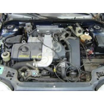 Двигатель RENAULT SAFRANE 2.5 TD 95-98 R.