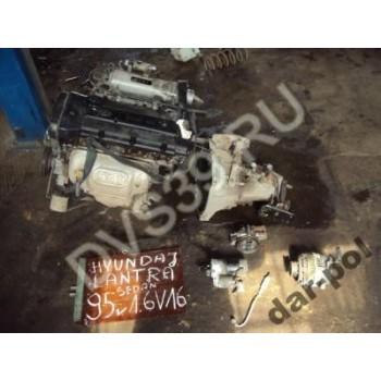 Hyundai Lantra 1.6 v16     95 - Двигатель DOHC