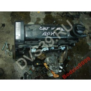 VW GOLF IV 99R. 2.0 APK Двигатель