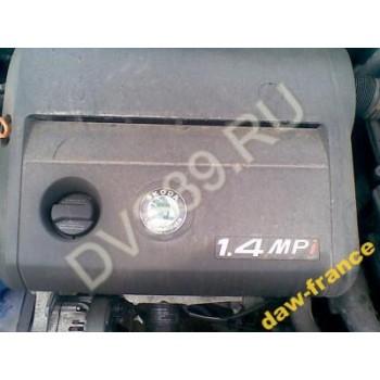 SKODA FABIA I 02r 1.4 MPI NA Двигатель
