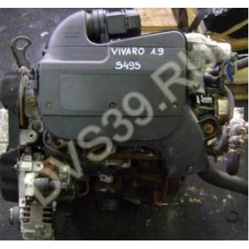 OPEL VIVARO PRIMASTAR TRAFIC 1.9 DCI Двигатель