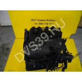 PEUGEOT 206 1.9D 01r Двигатель