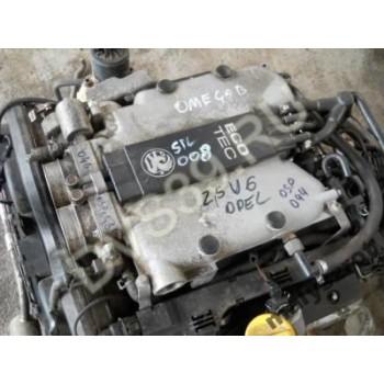 OPEL OMEGA B 2.5 V6 X25X4 08242394 Двигатель