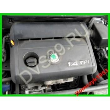 SKODA FABIA 1.4 MPI 01 Двигатель -