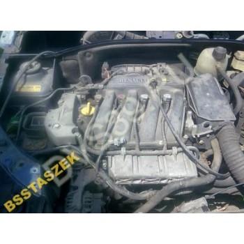 Двигатель 1,4 16V RENAULT CLIO II THALIA MEGANE II