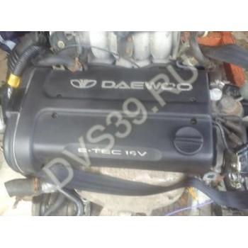 Двигатель DAEWOO NUBIRA lanos 1,6 16V E-TEC