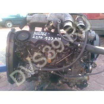CITROEN JUMPER 2.5 TD Двигатель 107 KM