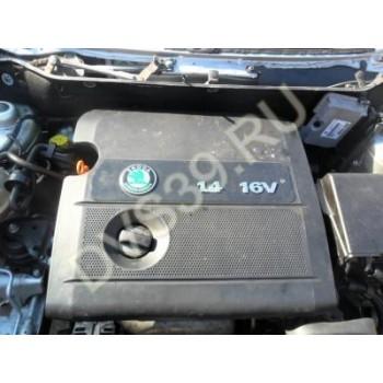 SKODA FABIA Ibiza Двигатель 1,4 16V