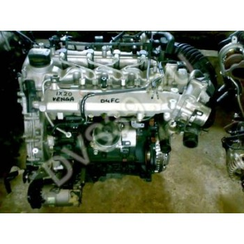 HYUNDAI IX20 Двигатель 1.4 CRDI . 3000 D4FC