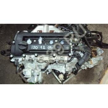 Двигатель HYUNDAI I20 1.2 2009r.