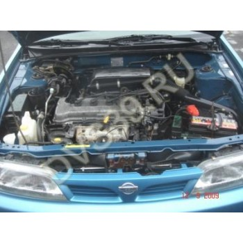 NISSAN ALMERA 97Год 1.4 N15 Двигатель