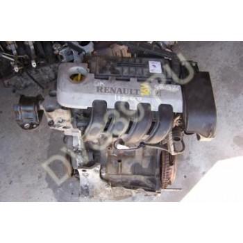 CLIO KANGOO THALIA Двигатель 2001 1.2 16V D4F 712