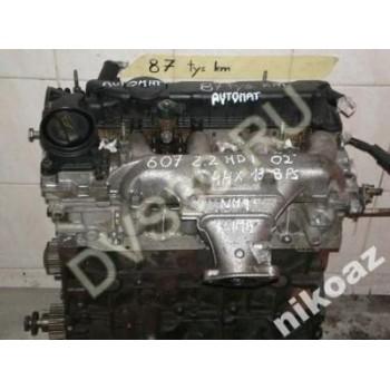 PEUGEOT 607 2.2 2,2 HDI 138KM 02 4HX Двигатель
