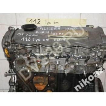 NISSAN ALMERA 2.2 2,2 DI 126KM 01 YD22 Двигатель