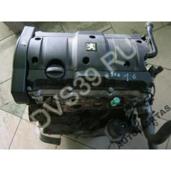 CITROEN PEUGEOT 206 307 1.6 16V Двигатель