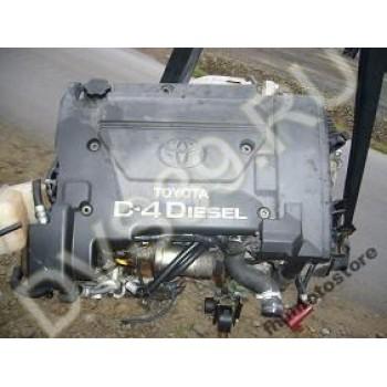 Toyota Corolla 2.0 D4D 2000r Двигатель