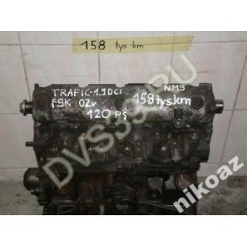 RENAULT TRAFIC 1.9 1,9 DCI 120KM 02 F9K Двигатель