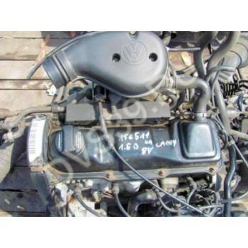 Двигатель  1.6 8V 1F 75KM - VW CADDY 1996r