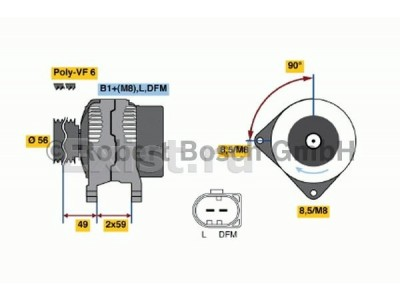 Volkswagen Passat B6 2.0 FSI 6МКПП Переборка и ремонт генератора