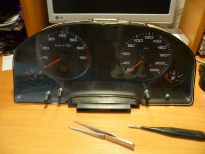 Audi 80 Metallic-rot ремонт одометра