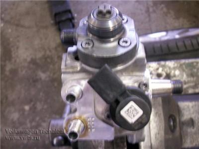 VW Tiguan 2.0 TDI Common Rail CFBB ремонт Топливной аппаратуры