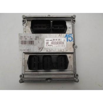 059907309F AUDI A4 8W компьютер двигателя 8W0907309F