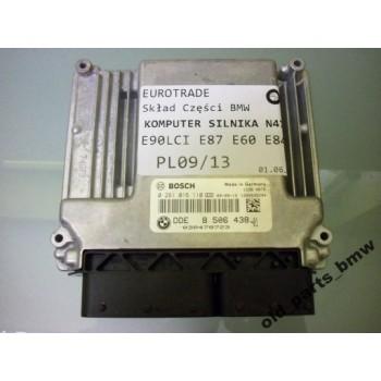 BMW 1 3 5 X1 2.0 D компьютер двигателя 0281016110