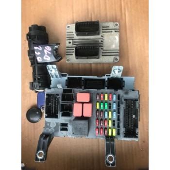 DOBLO ALBEA 1,4 8V комплект компьютера центральный блок BSI