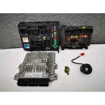 9658070980 комплект компьютера BSM Peugeot 407 2.7 HDI