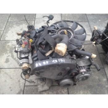 Audi A4 B5 1,9 TDi двигатель в сборе 1Z AHU AHH