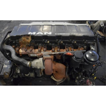 goły Двигатель MAN TGA TGX TGS D2066 EURO 5 440KM