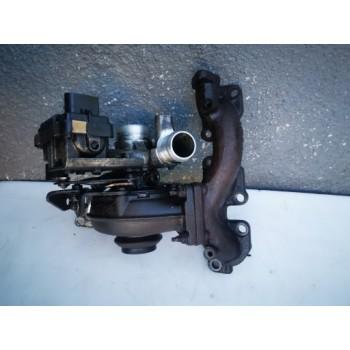 4U3Q-6K682-АЛЬ-Правая Турбина Peugeot 407 2.7 HDI